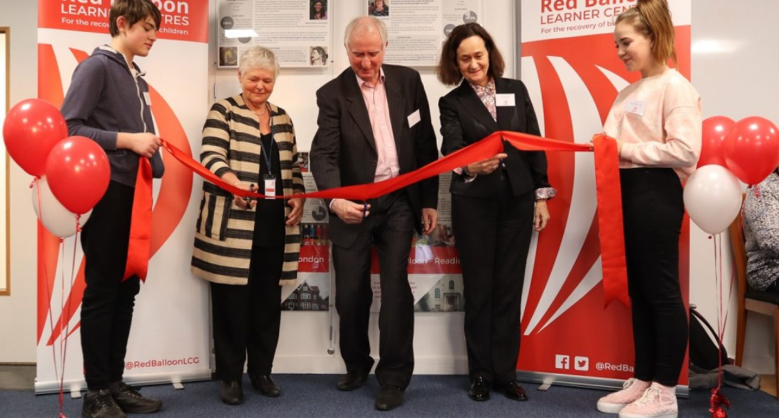 Supporters and Fundraisers page. Cutting the ribbon at Winship House