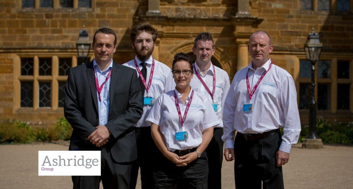 Staff from the Ashridge Group