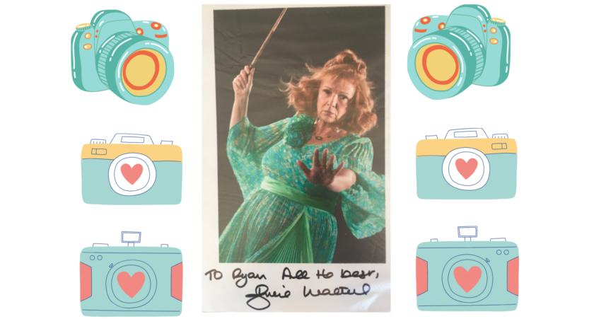 Autographed photo from Julie Walters