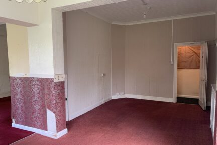 Photo of one of the rooms which needs refurbishing at Red Balloon Worthing